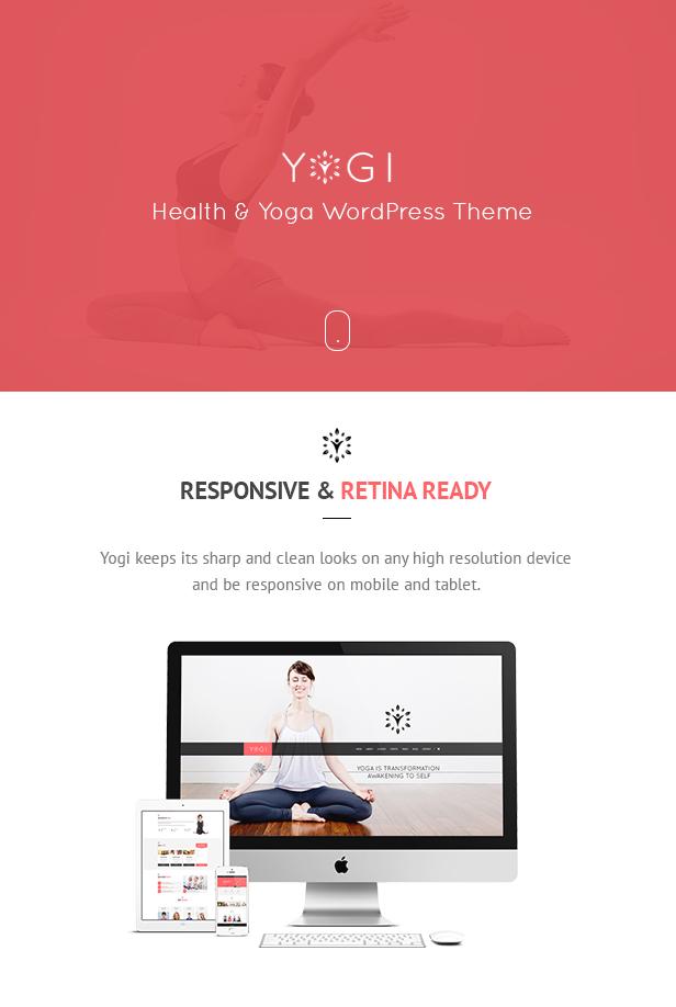 Yogi - Health Beauty & Yoga WordPress Theme - 3