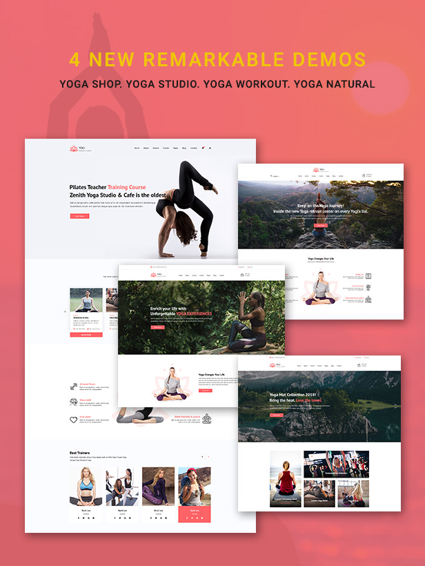 Yogi - Health Beauty & Yoga WordPress Theme - 2