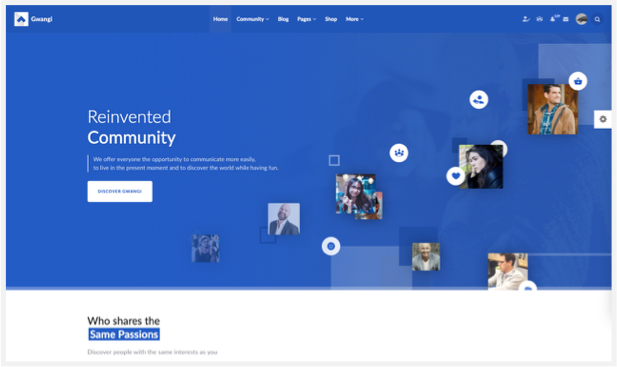 Gwangi - PRO Multi-Purpose Membership, Social Network & BuddyPress Community Theme - 11