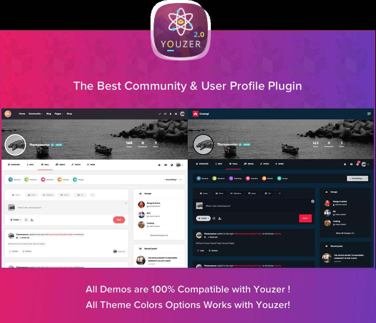 Gwangi - PRO Multi-Purpose Membership, Social Network & BuddyPress Community Theme - 21