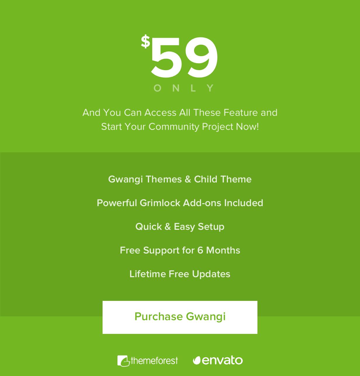 Gwangi - PRO Multi-Purpose Membership, Social Network & BuddyPress Community Theme - 44