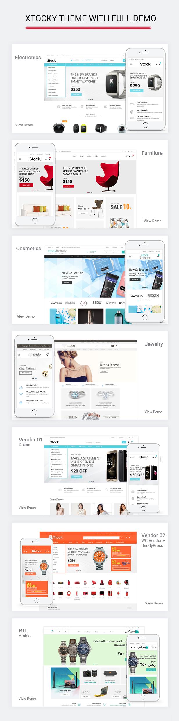 Xtocky - WooCommerce Responsive Theme - 4