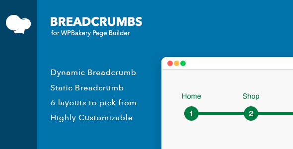 Breadcrumbs for WPBakery Page Builder (Visual Composer)