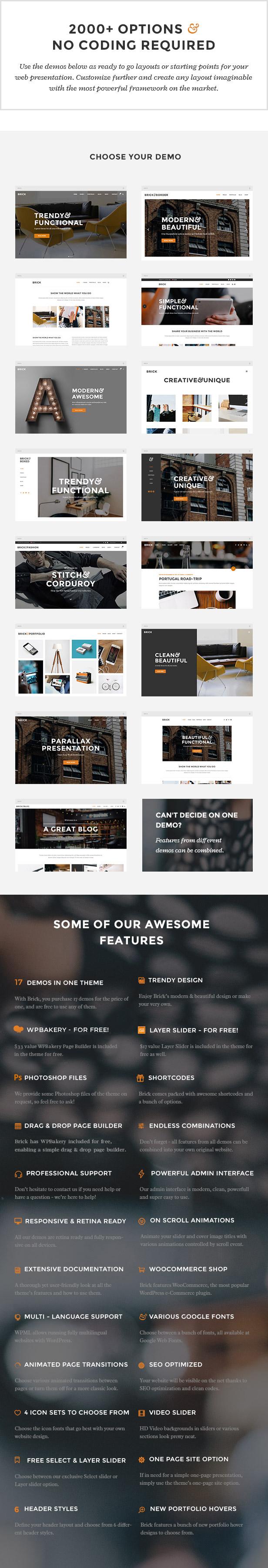 Brick - Digital Agency Theme - 1