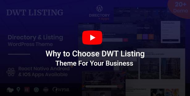 DWT - Directory & Listing WordPress Theme - 1