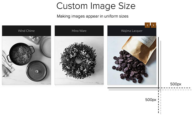 QuickShop Custom Image Size