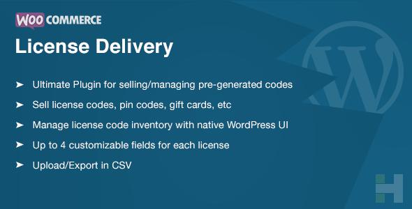 WooCommerce License Delivery & Management