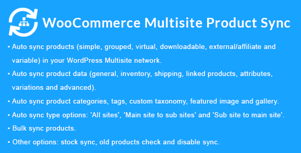WooCommerce Multisite Product Sync