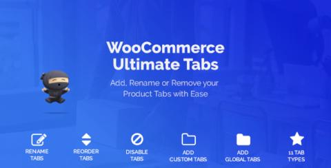 WooCommerce Tabs - Ultimate Custom Product Tabs