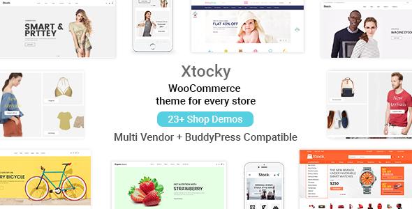 Xtocky - WooCommerce Responsive Theme