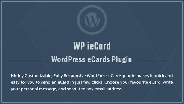 WP iecards WordPress eCards Plugin