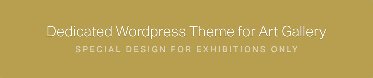Arte   Art Gallery WordPress Theme - 1