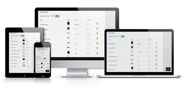 WooCommerce Quick Order One Page Shop - 12