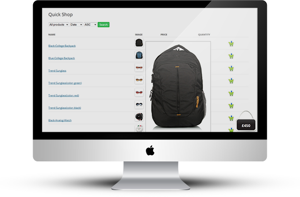WooCommerce Quick Order One Page Shop - 14