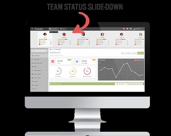 Cloud Admin - Bootstrap Responsive Dashboard - 5