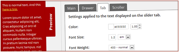 Create custom color styles to use for sidebars