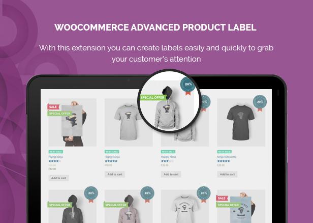 WooCommerce Advanced Product Label - 1