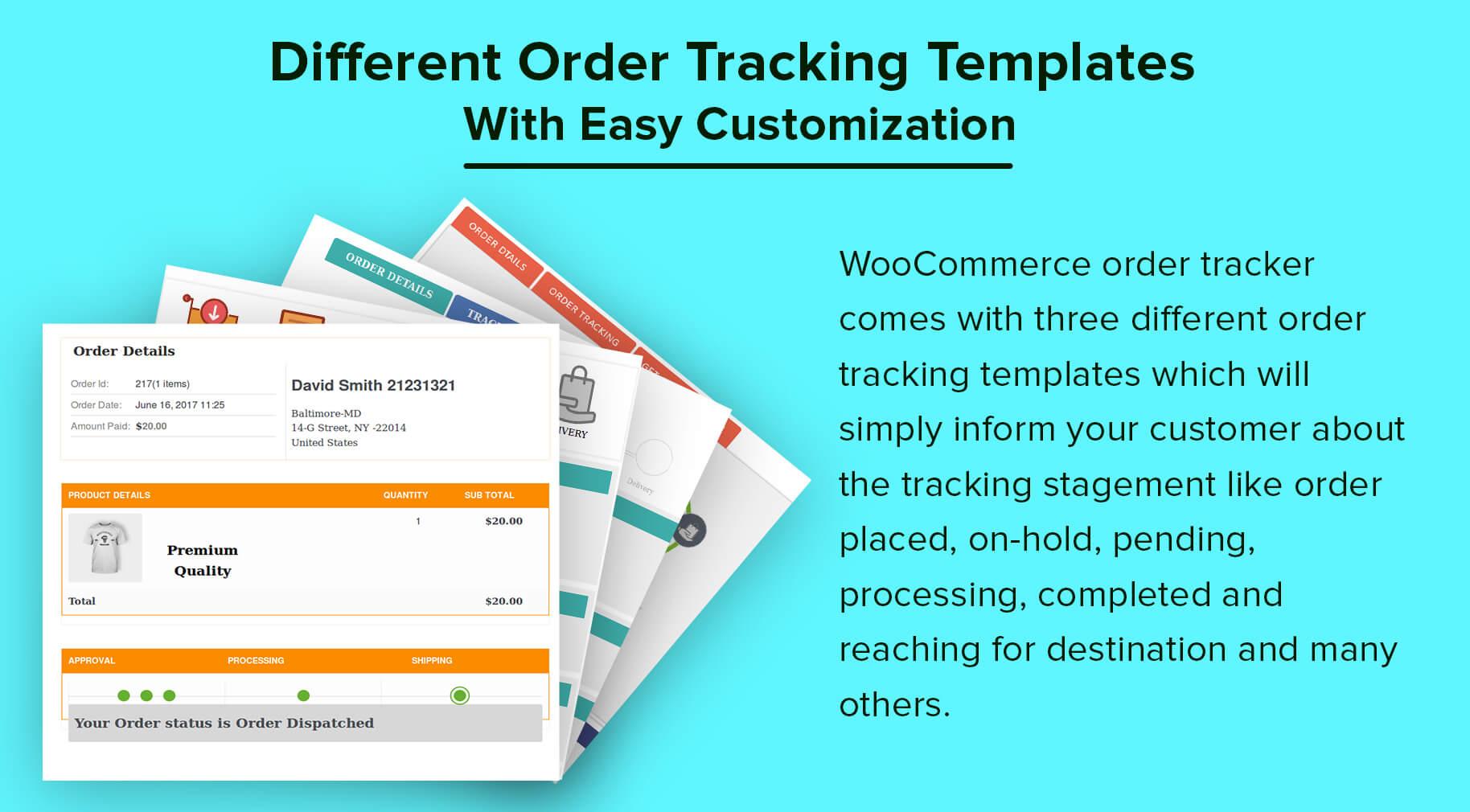 WooCommerce Order Tracker - 5