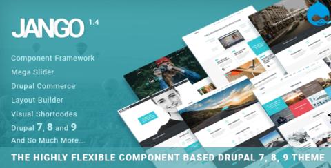 Jango | Highly Flexible Component Based Drupal 7, 8, 9 Theme