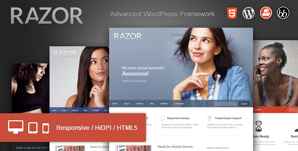 Razor: Cutting Edge WordPress Theme