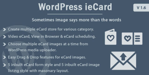 WP ieCard - WordPress eCards Plugin
