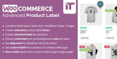 WooCommerce Advanced Product Label