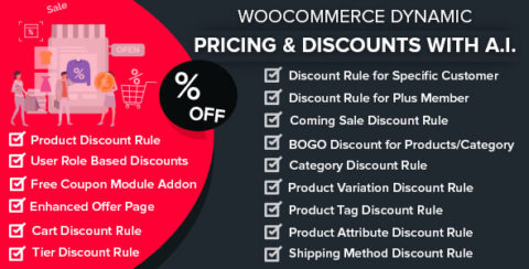 WooCommerce Dynamic Pricing & Discounts with AI