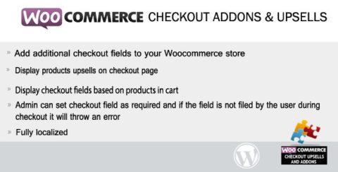 Woocommerce Checkout Addons & Upsells