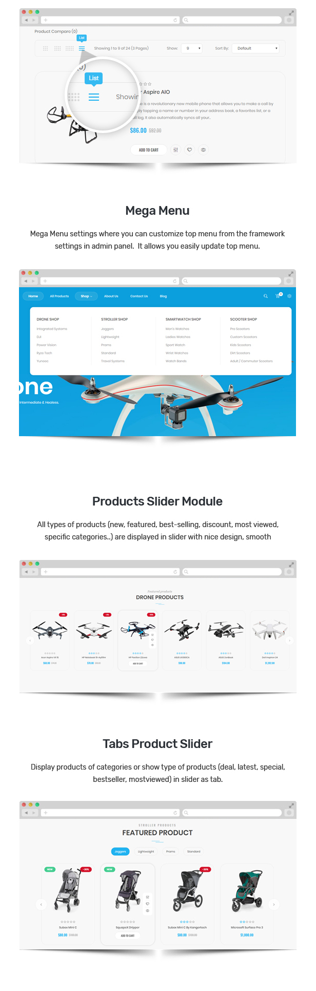 shopify one product