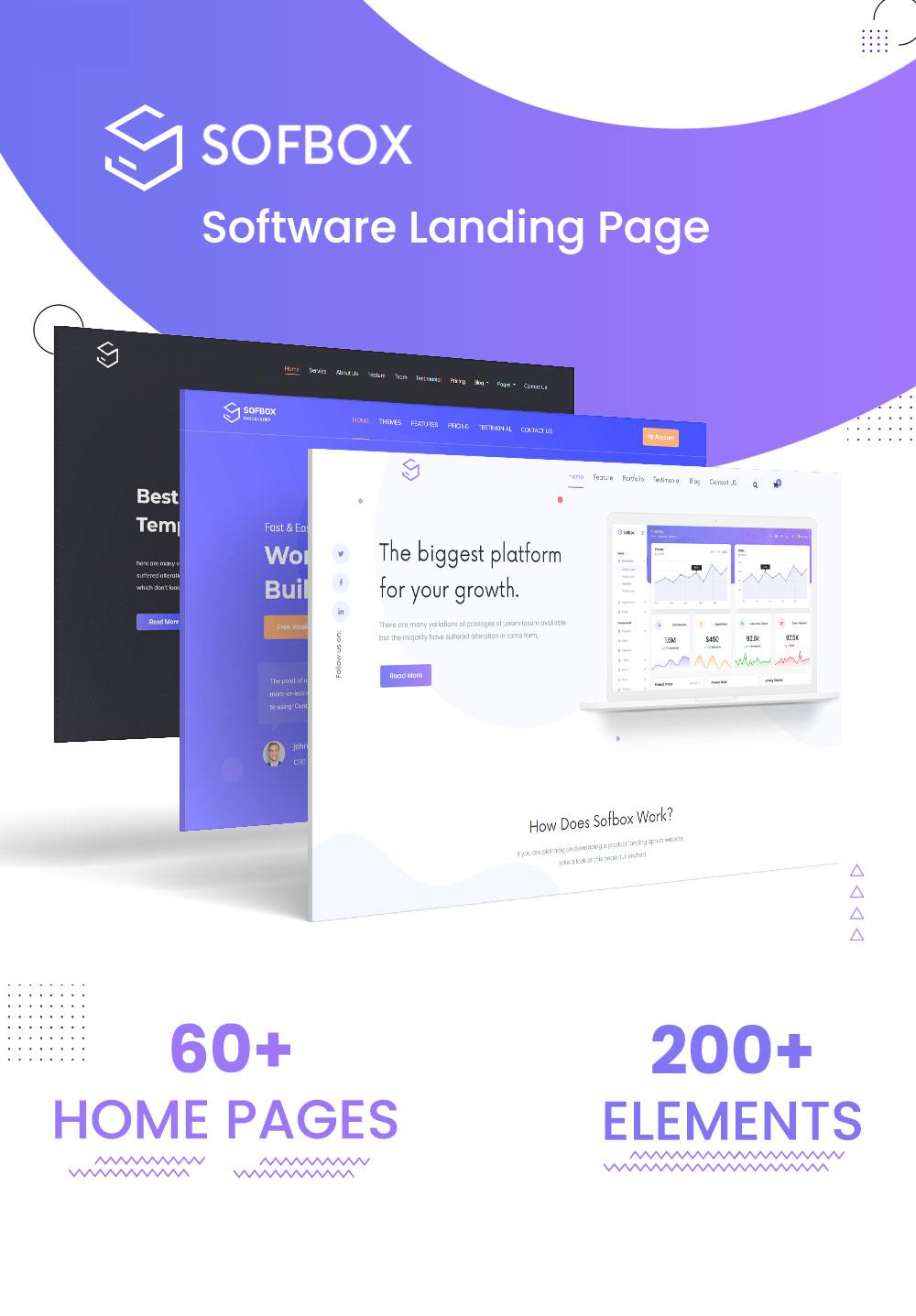 Sofbox - Software Responsive HTML5 Template - 1