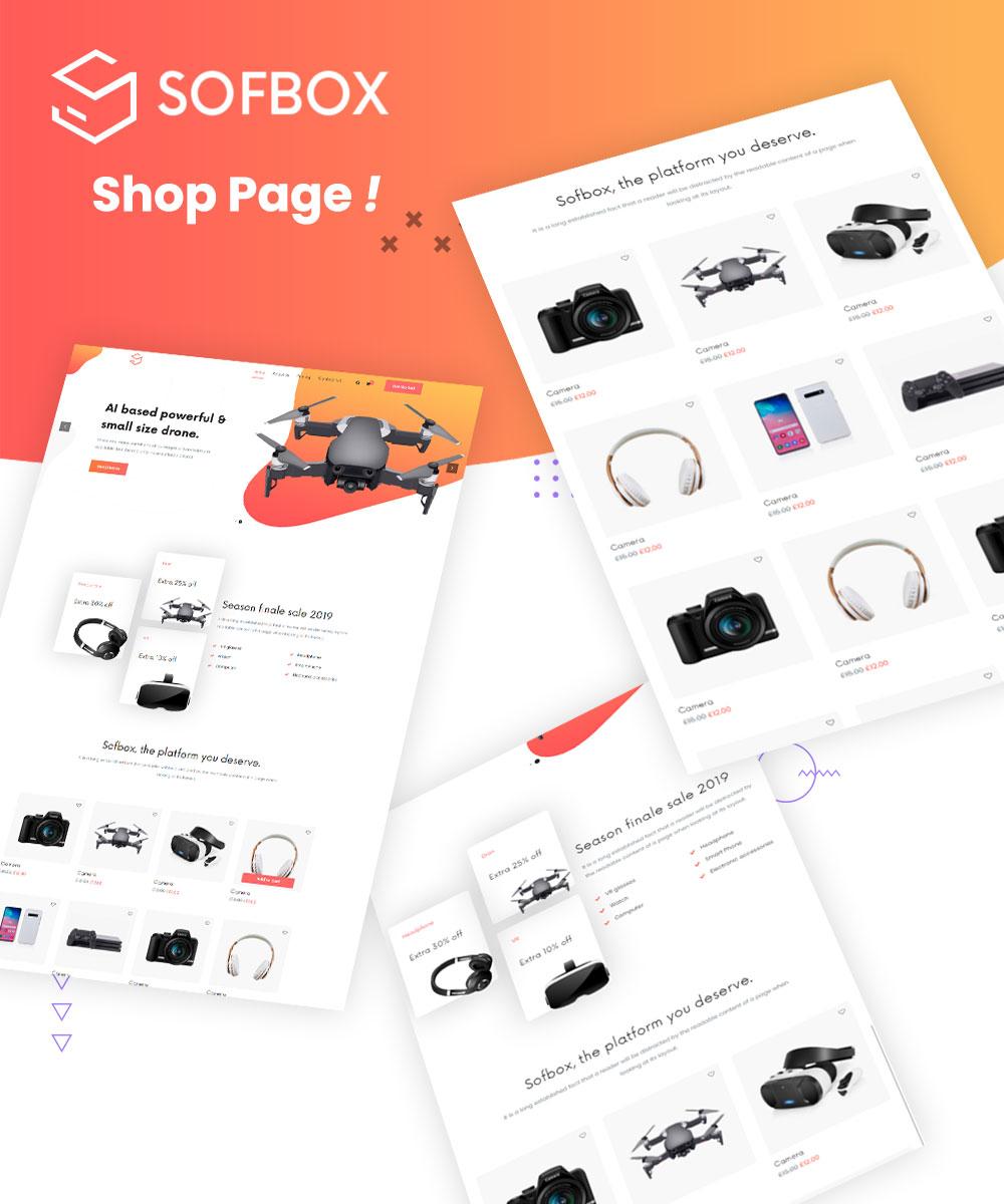 Sofbox - Software Responsive HTML5 Template - 3