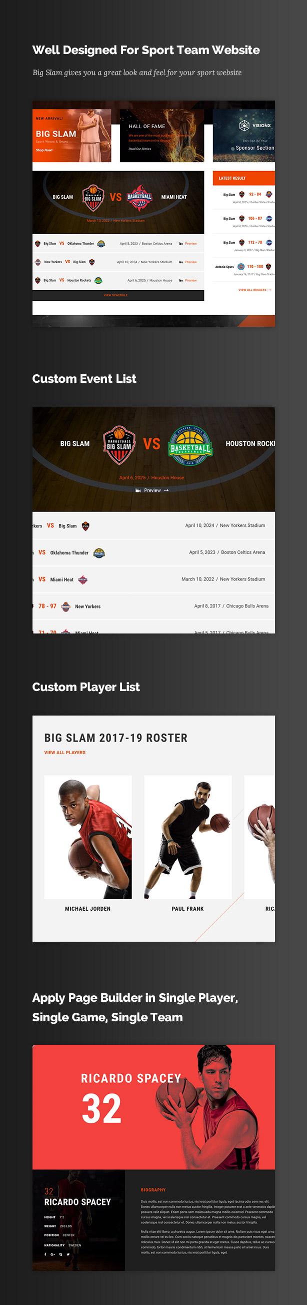 Big Slam Sport Clubs - Soccer WordPress - 4