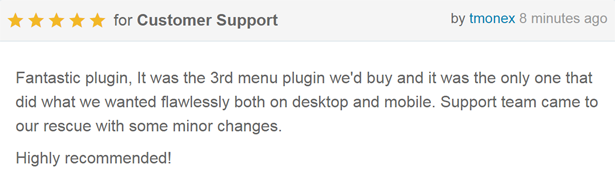 8Degree Fly Menu - Responsive Off-Canvas Menu Plugin for WordPress - 4
