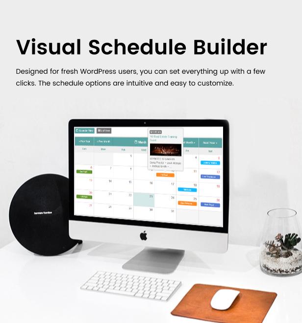 Tiva Events Calendar For WordPress - 12