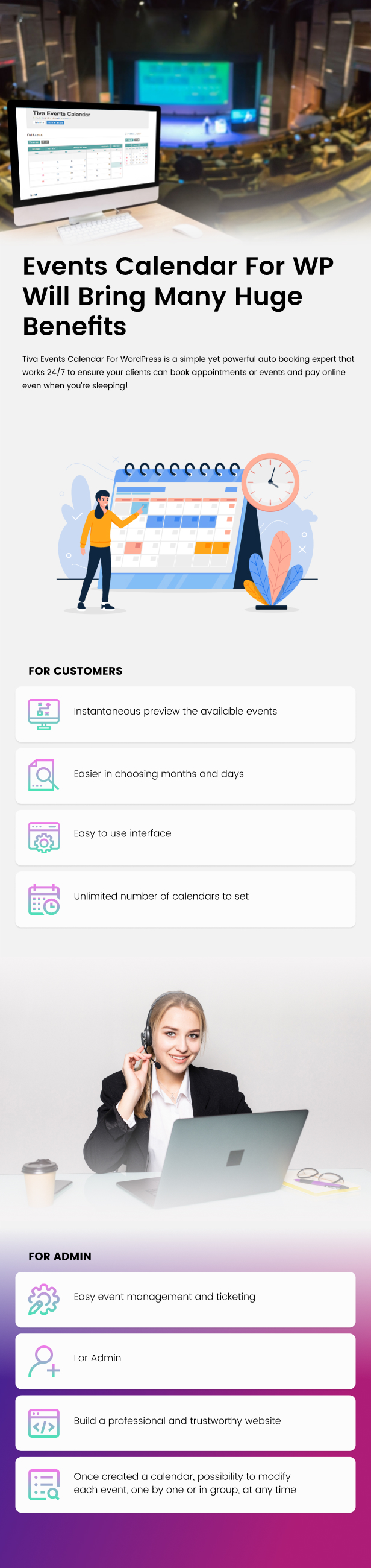 Tiva Events Calendar For WordPress - 6
