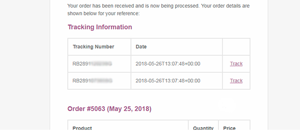 WooCommerce AliExpress Shipment Tracking - 1