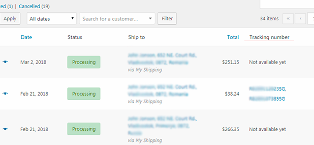 WooCommerce AliExpress Shipment Tracking - 3