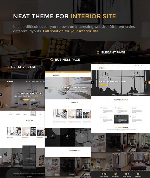 InteriArt - Furniture & Interior WordPress Theme - 3