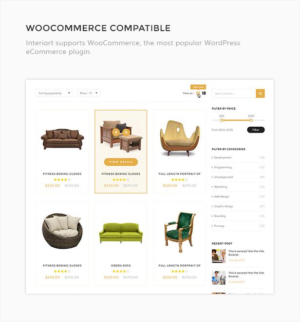 InteriArt - Furniture & Interior WordPress Theme - 6