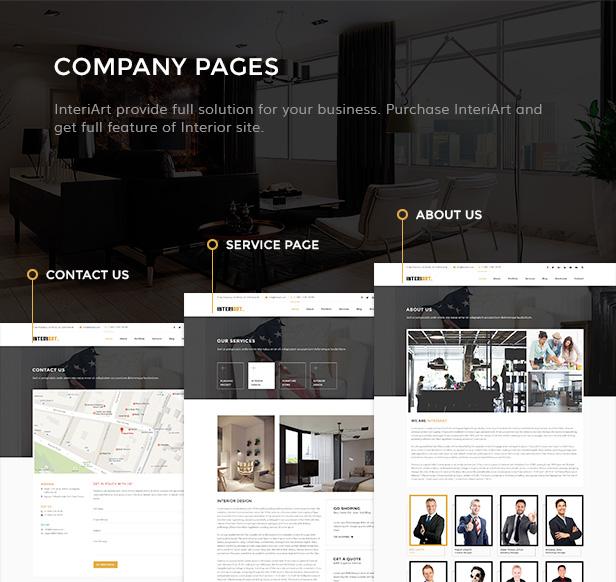 InteriArt - Furniture & Interior WordPress Theme - 5