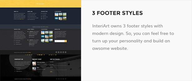 InteriArt - Furniture & Interior WordPress Theme - 13
