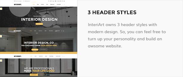 InteriArt - Furniture & Interior WordPress Theme - 12
