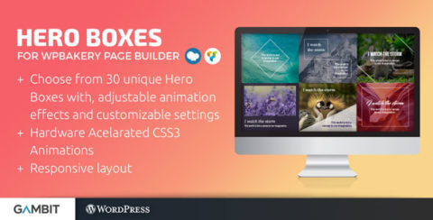 Hero Boxes for WPBakery Page Builder (formerly Visual Composer)