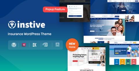 Instive - Insurance WordPress Theme