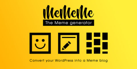 MeMeMe - The Meme Generator | WP Plugin