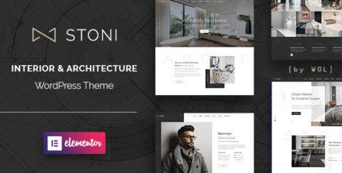 Stoni - Architecture Agency WordPress Theme
