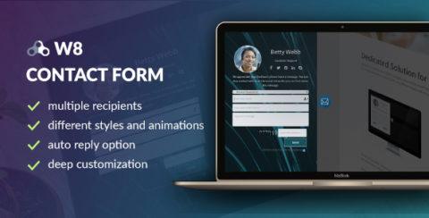 W8 Contact Form - WordPress Contact Form Plugin
