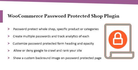 WooCommerce Password Protected Categories & Shop Plugin